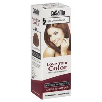 CoSaMo - Love Your Color Non-Permanent Hair Color 776 Light Golden Brown - 3 oz.