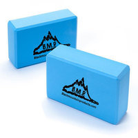 Black Mountain Products Yoga Block Color: Blue