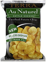 TERRA® Potato Chips Unsalted Au Naturel