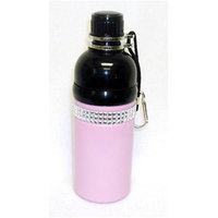 Good Life Gear SF6035-5P 18 oz. Stainless Steel Pet Water Bottle with Carabineer
