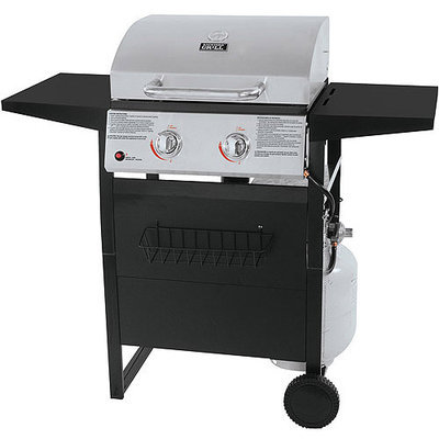 Backyard Grill 2-Burner Stainless Steel LP Gas Grill