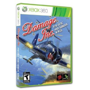Mad Catz DPS47SW1NMSW Damage Inc. Software For X360 Mlic Damage Inc Pac Squadron Wwii X360