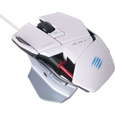 MAD CATZ R.A.T. 3 Optical Gaming Mouse - White