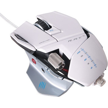MAD CATZ R.A.T. 5 Laser Gaming Mouse - White