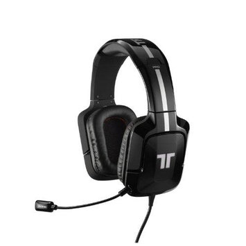 Tritton Pro+ 5.1 Surround Headset For Xbox 360 And Playstation3 - Black - Surround - Black - USB - Wired - 25 Hz - 22 Khz - Over-the-head - Binaural - Circumaural - 12 Ft Cable (tri90303n002-02-1)