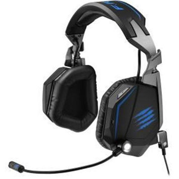 Mad Catz F.r.e.q. Te Stereo Gaming Headset For Pc, Mac, & Mobile Devices - Stereo - Matte Black - Mini USB - Wired - Over-the-head - Binaural - Circumaural - 6.56 Ft Cable (mcb434120002-02-1)