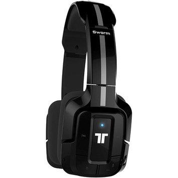 Saitek Tritton Swarm Wireless Mobile Headset With Bluetooth Technology - Surround - Black - Mini-phone - Wired/wireless - Bluetooth - Over-the-head - Binaural - Circumaural (tri906310012-02-1)