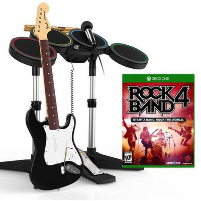 Harmonix Music Systems Rock Band 4 Band-in-a-box Bundle - Xbox One