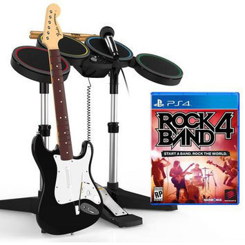 Harmonix Music Systems Rock Band 4 Band-in-a-box Bundle - Playstation 4