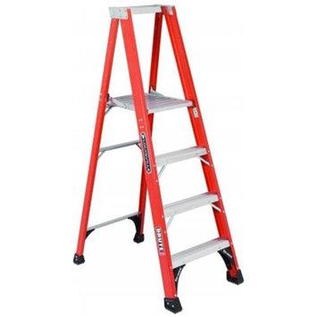 Louisville Ladder - FP1406HD - Platform Stepladder, 16 In. W, 8 ft. H