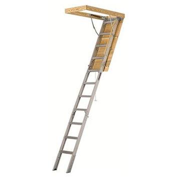 Louisville 10-ft Aluminum Attic Ladder AA2210