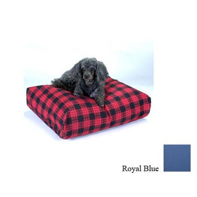 O'donnell Industries Snoozer Rectangular Dog Bed Royal Blue, Small