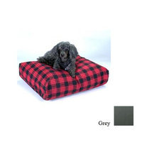 O'donnell Industries Snoozer SN-63305 Snoozer Rectangular Pillow Bed - Large-Grey