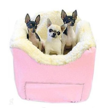 O'donnell Industries Odonnell Industries 82110 Lookout II Small Pet Car Seat - Baby Pink Vinyl