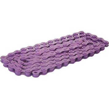 DUO Bicycle Parts BC1218CP Bicycle Chain Purple 0.5 x 0.12 in.