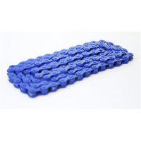 DUO Bicycle Parts BC1218CRB Bicycle Chain Royal Blue 0.5 x 0.12 in.