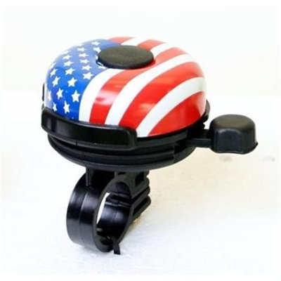 DUO Bicycle Parts BB909JUS Bicycle Bell No. 909J Us Flag