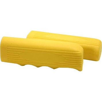 DUO Bicycle Parts 57CB0214BNY Yellow Beach Cruiser Handle Bar Grip For Bicycles