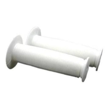 DUO Bicycle Parts 57WR2001W Bicycle Parts Handle Bar Grip Pvc White