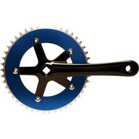 Big Roc Tools 57CC8106ABEBK Chainwheel And Crank Set - Blue And Black