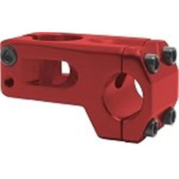 DUO Bicycle Parts 57SITC7244R Bicycle Handle Bar Stem - Red