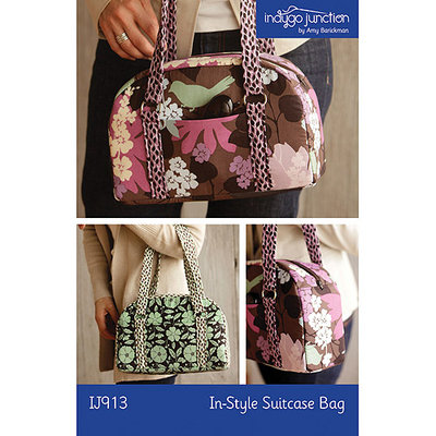 Indygo Junction, Incorporated Indygo Junction-In-Style Suitcase Bag