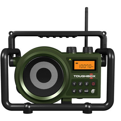 Sangean Toughbox AM/FM Ultra-Rugged Digital Radio Green