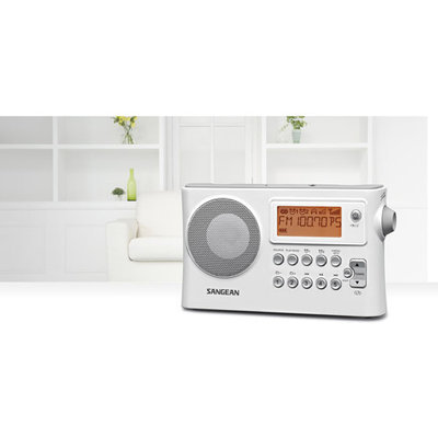 Sangean PR-D14 AM/FM-RDS Portable Receiver with USB