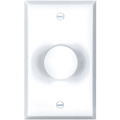 BIC America Svc-2W Impedance-Matching Stereo Volume Control, White Standard