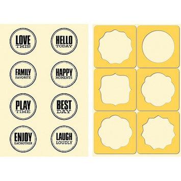 Hampton Art JB0201 Jillibean Soup Stamp & Stencil Set-Seals