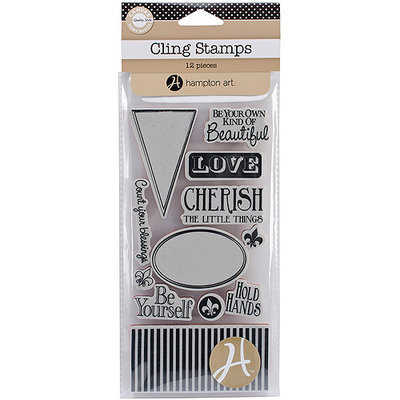Hampton Art Canvas Corp Cling Stamps 4