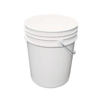 Impact 5515P Utility Bucket Polyethylene 5 gal White