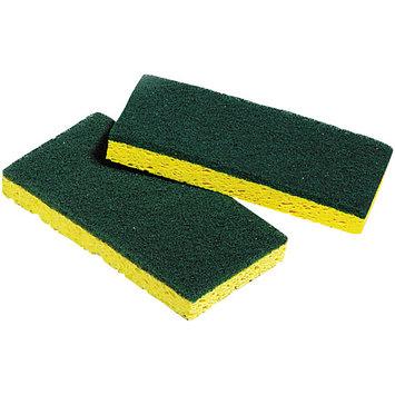 Unisan 03006 Medium-duty Scrubbing Sponges 3 3/8 X 6 1/4 5/pack
