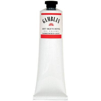 Gamblin G7150 Student Grade Oil Color 37ml Cadmium Red Medium