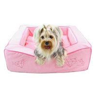 Dogs of Glamour DG00014 21 x 17.5 x 7 In. Dream Of Diamonds Bed