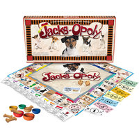 Late for the Sky Jacks-opoly Board Game Men's