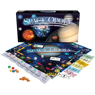 Late for the Sky Space-Opoly Board Game