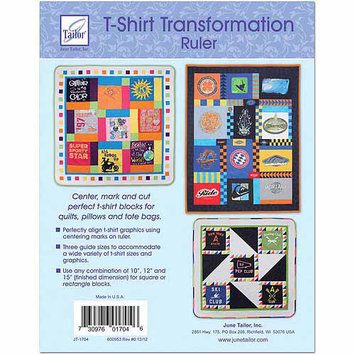 June Tailor T-Shirt Transformation Ruler-15-1/2