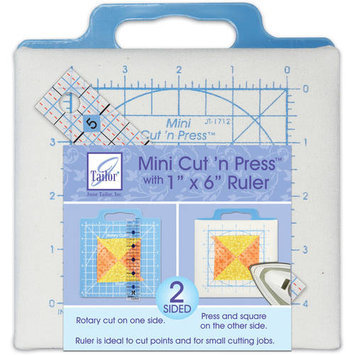 June Tailor Quilter's Mini Cut'n Press With Ruler