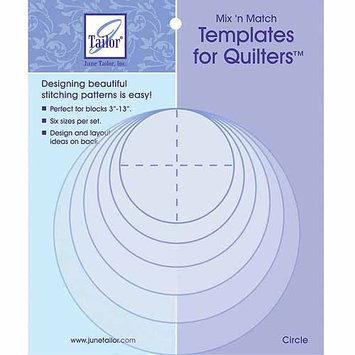 June Tailor JT400418 Mixn Match Templates For Quilters 6PkgFlower