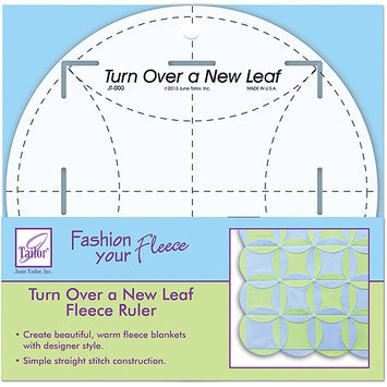 June Tailor JT-784 Turn Over A New Leaf Ruler-8 in. Round