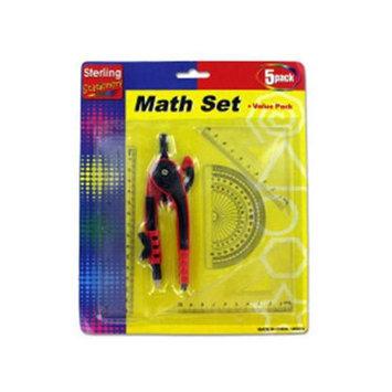Bulk Buys Math set value pack Case Of 24