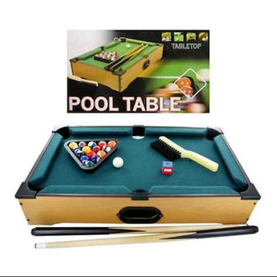 Kole Imports Bulk Buys Tabletop pool table 22 pieces