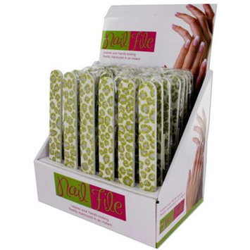 Dollar Days Glitter Nail File Display (Pack of 48)