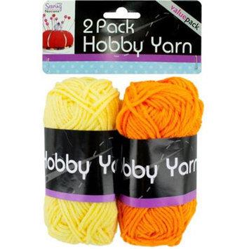 DDI 1757762 2-Pack Hobby Yarn