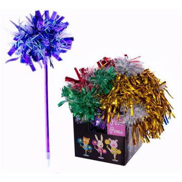 DDI 1756681 Assorted Tinsel Long and Short Pom Poms