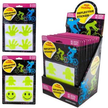 DDI 1334966 Reflective Stickers- 36 Pack PDQ