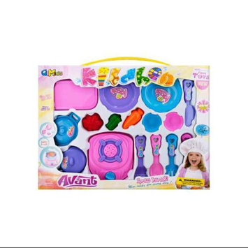 Kole Imports 16-Pc Deluxe Cooking Play Set