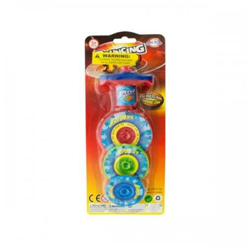 Bulk Buys Ka192 3-Layer Bouncing Top Spinner Toy Pack Of 12