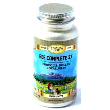 Premier One - Bee Complete 3X Propolis Bee Pollen Royal Jelly - 90 Capsules